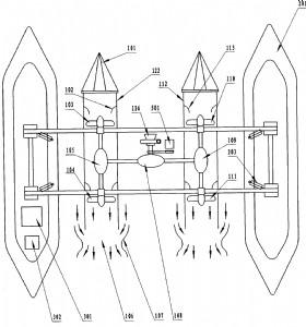 可移动式径流浮舫泵站